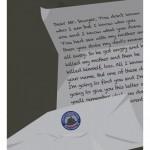 poster minimalista perdidos Gideon Slife