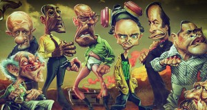 Anthony Geoffroy caricaturas breaking bad