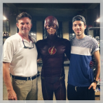 Grant Gustin The Flash rodaje