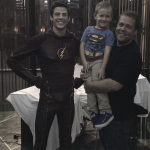 Grant Gustin The Flash superman