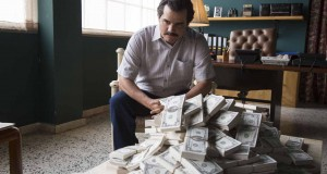 Wagner Moura as Pablo Escobar in the Netflix Original Series NARCOS.  Photo credit: Daniel Daza/Netflix
