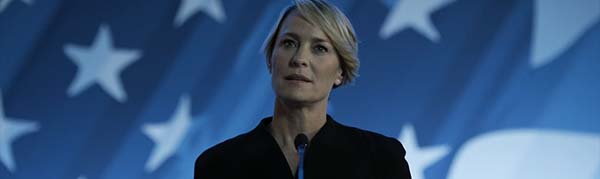 House of Cards cuarta temporada claire vicepresidenta